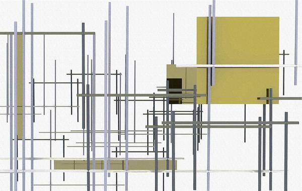 Richard Digital Art - Under Construction by Richard Rizzo
