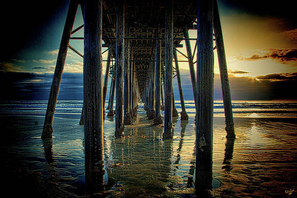 Photograph - Under The Boardwalk by Chris Lord