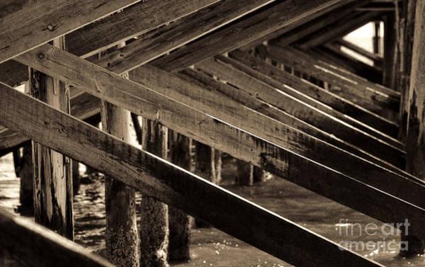 Under The Pier Photograph - Under The Boardwalk II by Jeff Breiman