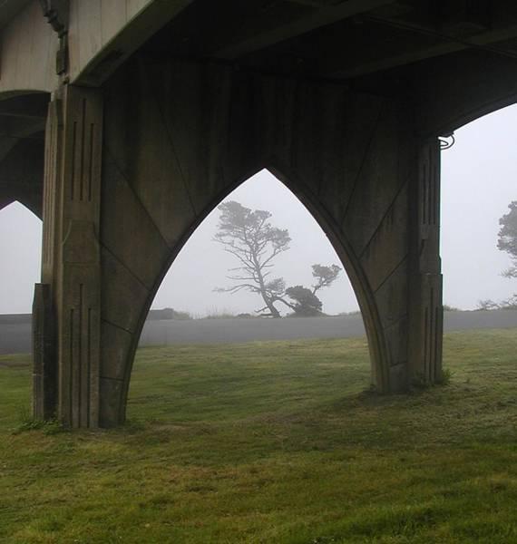 Photograph - Under The Bridge by HW Kateley