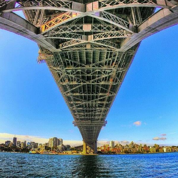 Road Photograph - Under The Bridge by Tommy Tjahjono