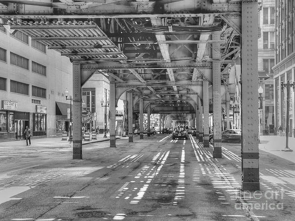 Wabash Avenue Wall Art - Photograph - Under Wabash Avenue by David Bearden