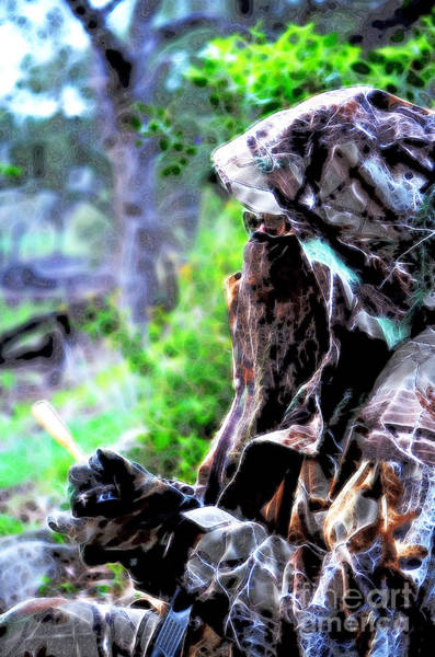 Photograph - Undercover Huntress by Donna Greene
