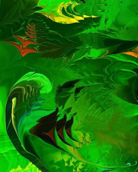 Reef Diving Digital Art - Undersea Fantasy  by David Lane