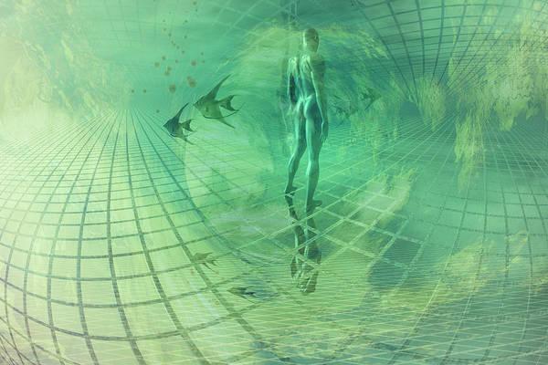 Wall Art - Digital Art - Underwater World by Carol and Mike Werner