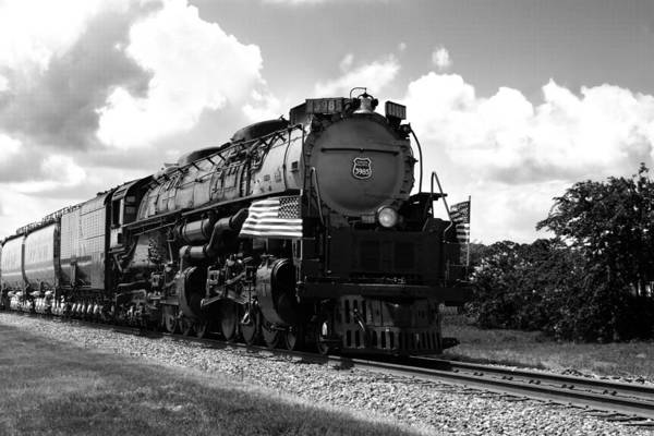 Photograph - Union Pacific 3985 by Jason Smith