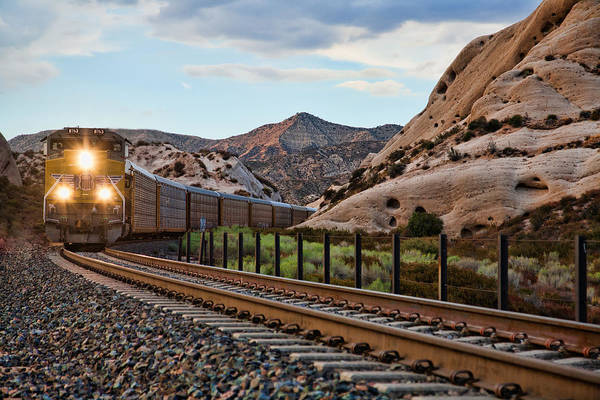 Photograph - Union Pacific Tracks by Peter Tellone