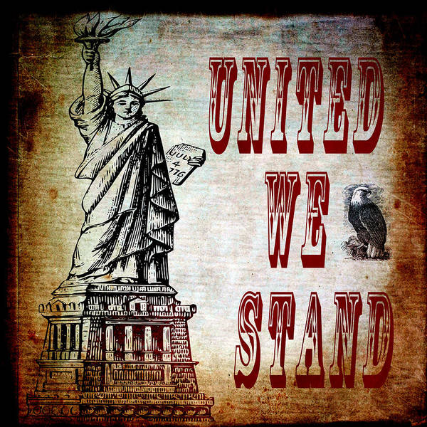 Digital Art - United We Stand by Angelina Tamez