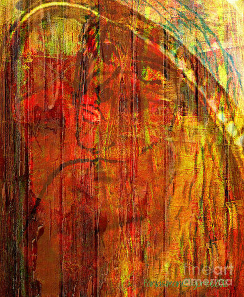 Sacrifice Mixed Media - Unmixed Faith by Fania Simon