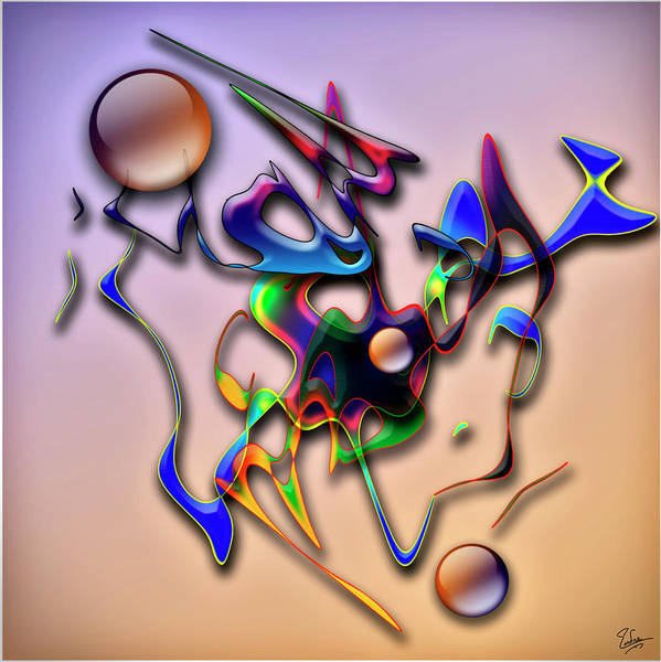 Digital Art - Untitled One by Endre Balogh