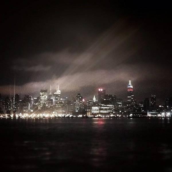 Gotham Wall Art - Photograph - Unusual Light Phenomena Occurred Last by Justin DeRoche