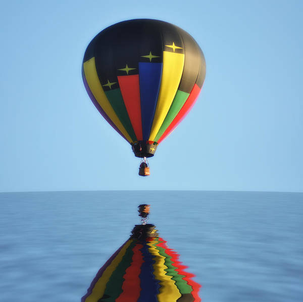 Photograph - Up Up And Away by Bill Cannon