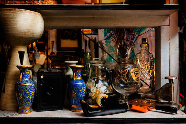 Photograph - Upon A Shelf by Christopher Holmes