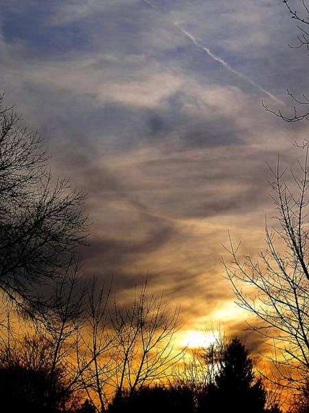 Photograph - Upper Arlington Sunset by Beth Akerman
