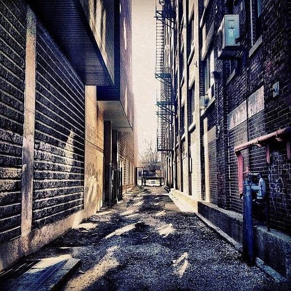 Buildings Wall Art - Photograph - Urban Alley by Christopher Campbell