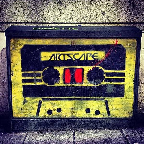Handmade Wall Art - Photograph - Urban Cassette by Antony Crafford