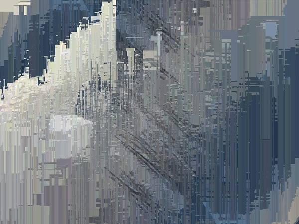 Highrise Digital Art - Urban Core by Tim Allen