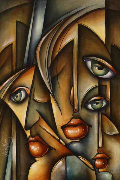 Wall Art - Painting - Urban Expression by Michael Lang