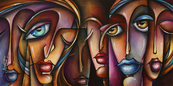 Interaction Painting - Urban Expressions C566 by Michael Lang