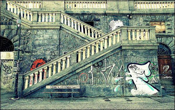 Wall Art - Photograph - Urban Graffiti by Valentino Visentini