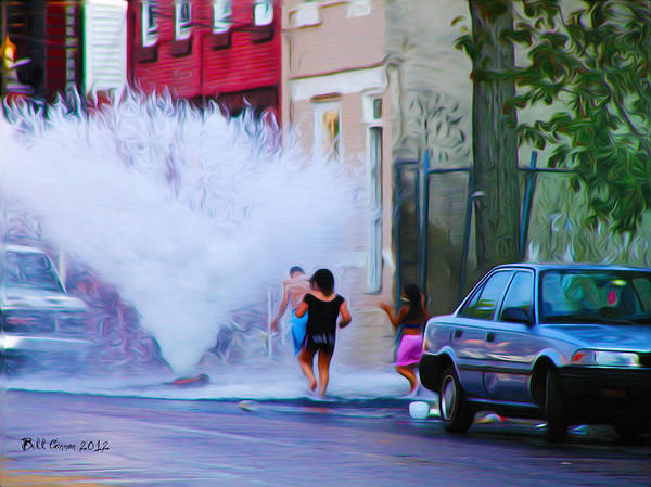 Photograph - Urban Waterpark by Bill Cannon