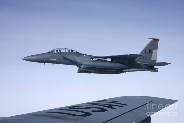 Photograph - U.s. Air Force F-15e Strike Eagle by Daniel Karlsson