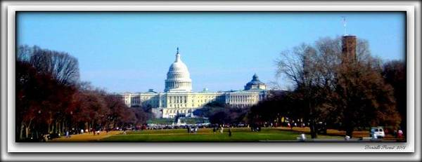 Photograph - U.s. Capitol Building by Danielle  Parent