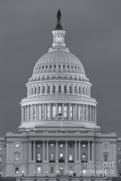 Photograph - Us Capitol Building V by Clarence Holmes