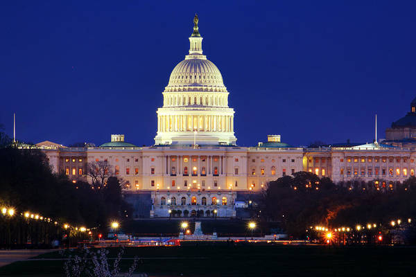 Photograph - U.s. Capitol by Shelley Neff