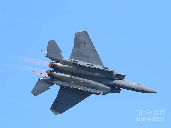 Photograph - Usaf F-15 Strike Eagle . 7d7871 by Wingsdomain Art and Photography