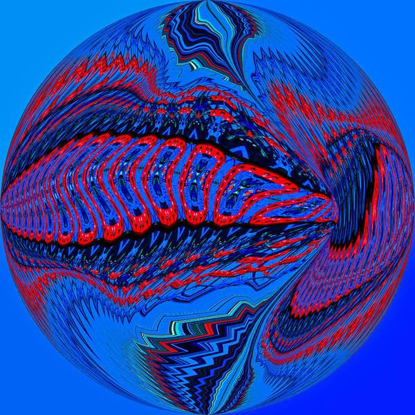Digital Art - Ushti by Theodore Jones