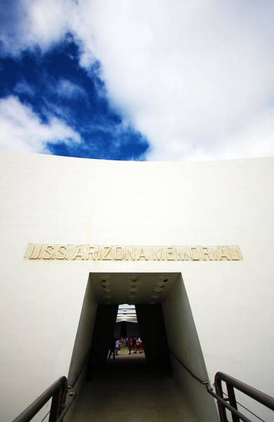 Uss Arizona Wall Art - Photograph - Uss Arizona Memorial Two by Ty Helbach