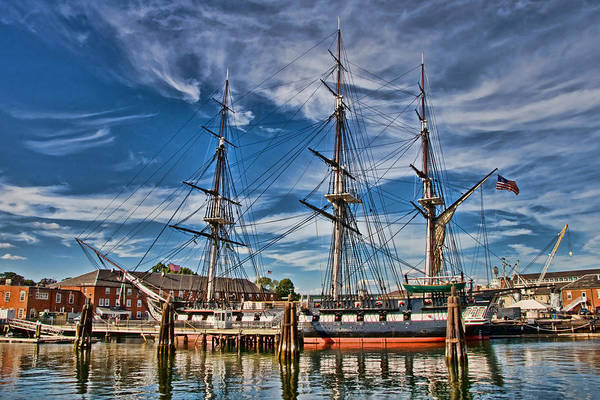 Photograph - Uss Constitution-boston by Joann Vitali