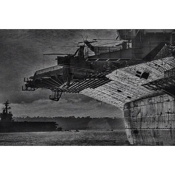 Wall Art - Photograph - Uss Midway by Larry Marshall