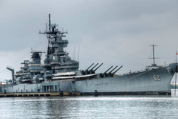 Photograph - Uss New Jersey by Jennifer Ancker