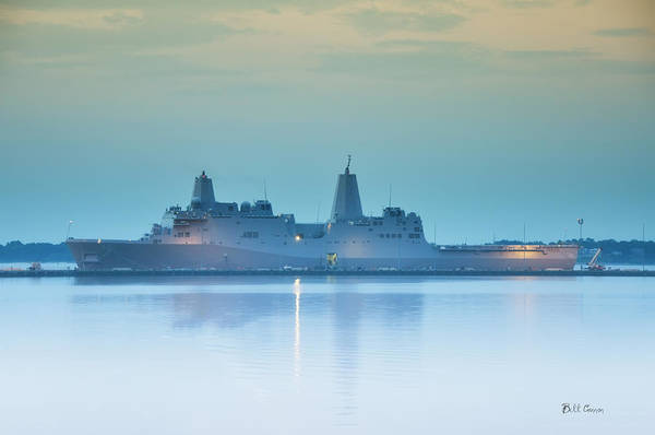 Photograph - Uss New York by Bill Cannon