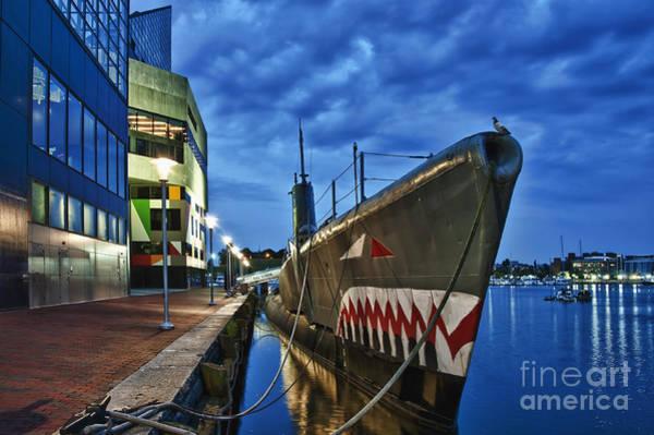 National Aquarium Photograph - Uss Torsk Submarine Memorial by John Greim
