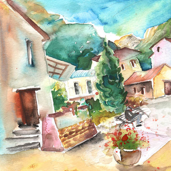 Pyrenees Painting - Ussat 02 by Miki De Goodaboom
