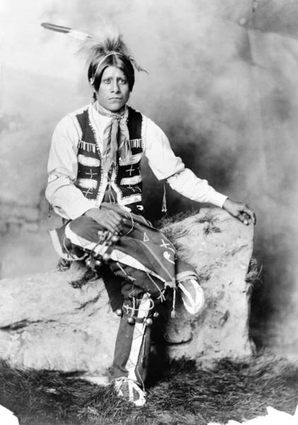 Photograph - Ute Man, C1906 by Granger