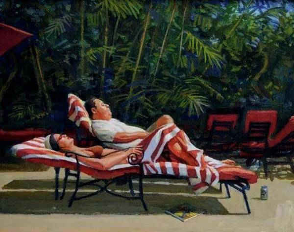 Painting - Vacation by Mel Greifinger