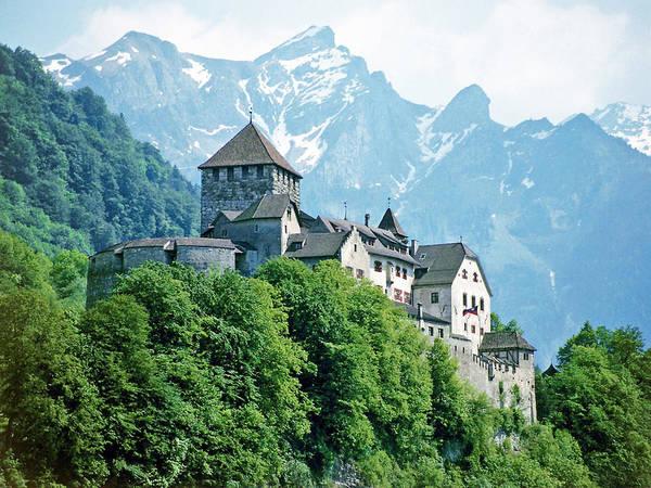 Vaduz Castle Lichtenstein Art Print