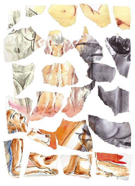 Wall Art - Mixed Media - Vague Memories by Michal Boubin