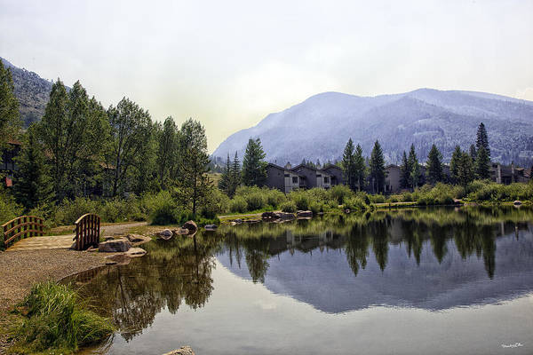 Wall Art - Photograph - Vail Reflections 4 by Madeline Ellis