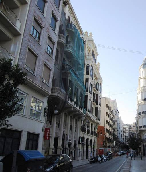 Photograph - Valencia City Architecture And Streets II Spain by John Shiron