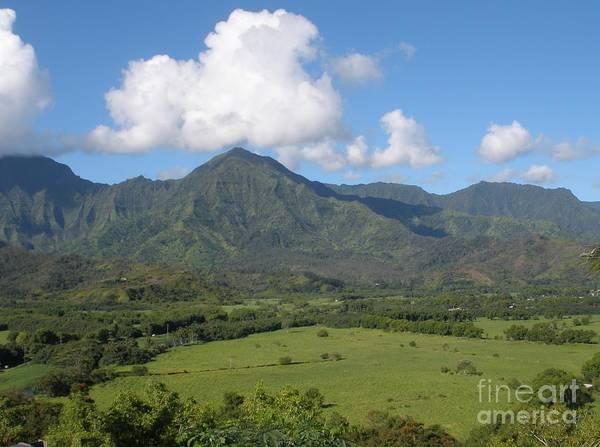 Photograph - Valley In Kauai  by Jeanie Watson