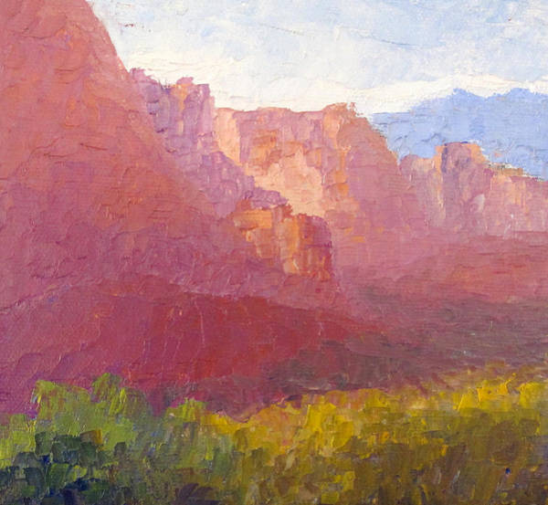Valley Of Fire Painting - Valley Of Fire by Terry  Chacon