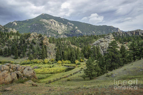 Photograph - Valley On Cr 77 by David Waldrop