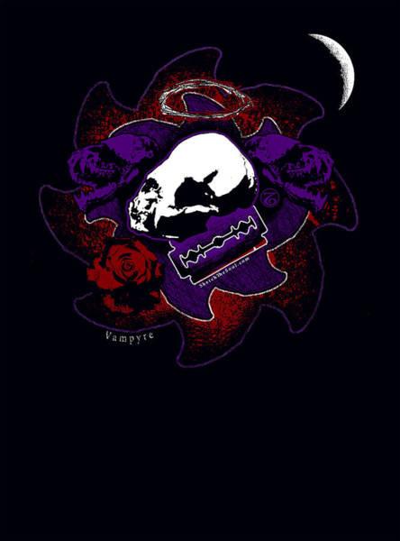 Mixed Media - Vampyre  by Tony Koehl