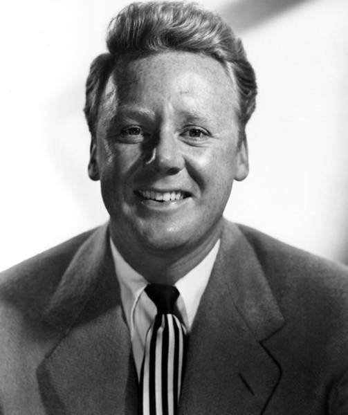 Van Johnson Photograph - Van Johnson. 1952 Portrait by Everett