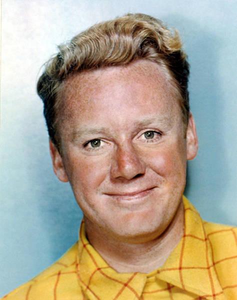 Van Johnson Photograph - Van Johnson Color Portrait, Late 1940s by Everett